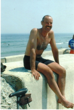 "A picture of Swami ""on the wall"" at Hampton Beach."